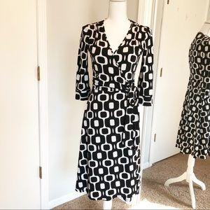 Bisou Bisou Michele Bohbot Black/White Dress (6)